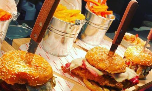 It's a big burger deal at The Deva Tap