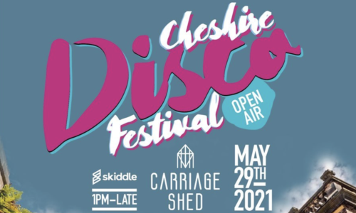 Cheshire Open Air Disco Festival at The Carriage Shed