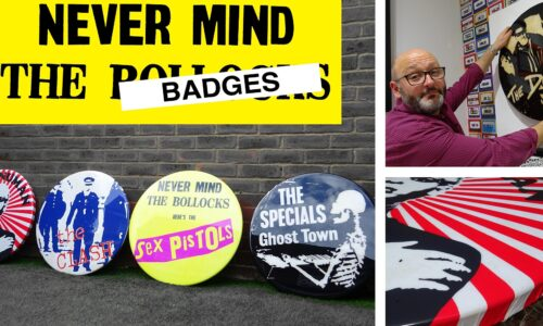 """Watergate Gallery – Meet The Artist – Tony Dennis – """"Never Mind The Badges"""""""