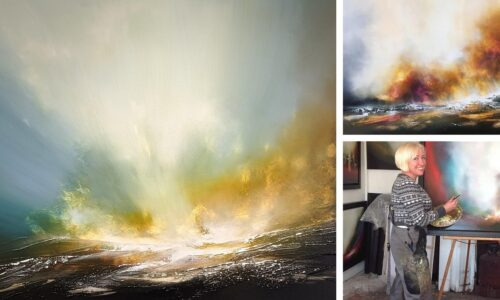 """Watergate Gallery – Sheryl Roberts """"Turner Of The North"""" Exhibition – Meet The Artist"""