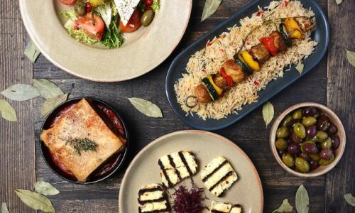 Meze Banquet for 2 with Wine – Olive Tree Brasserie