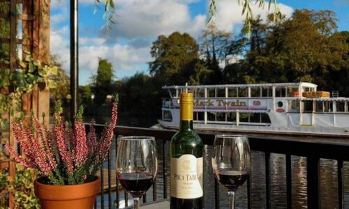 Light Lunch Menu – The Boathouse, Chester