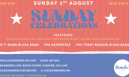 Sunday Celebrations at Alexander's Live!