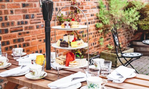 Sparkling Afternoon Tea upgrade at The Townhouse!