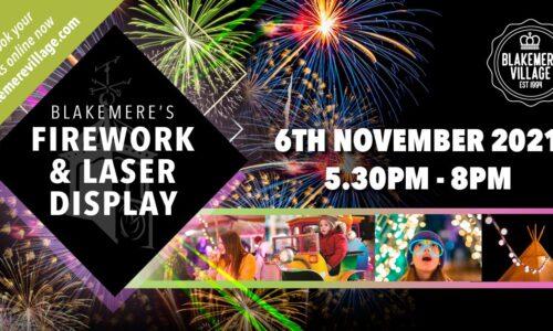 Blakemere's Firework & Laser Display 2021