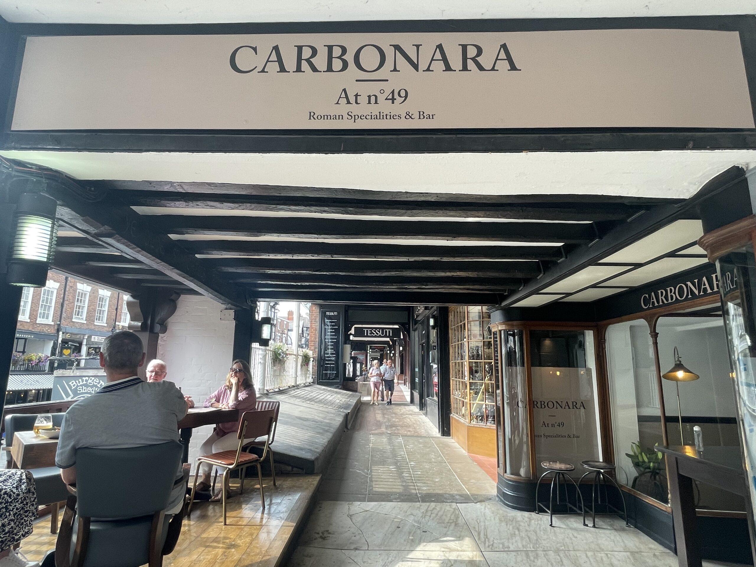 Carbonara at No. 49