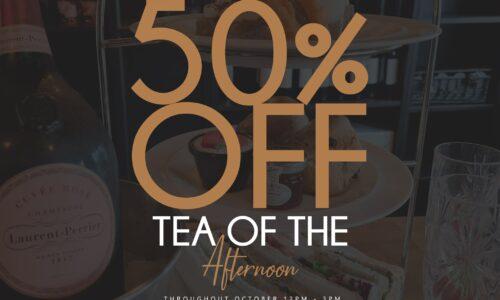 50% OFF Afternoon Tea at The Black Dog Kitchen & Bar