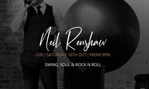 Neil Renshaw Live at The Black Dog